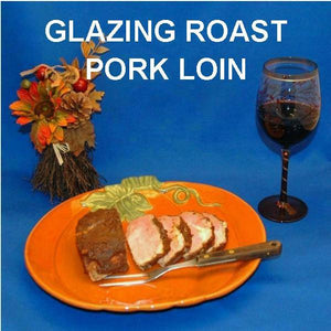 Casablanca Apple Butter Glazed Pork Roast with red wine Fall