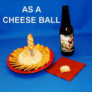 Casablanca Chicken Apricot Cheese Ball served with ale