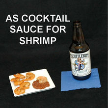 Load image into Gallery viewer, Steamed Shrimp with Casablanca Spiced Ketchup Cocktail Sauce served with ale