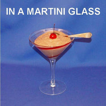 Load image into Gallery viewer, Chocolate Covered Cherries Mousse garnished with Maraschino cherry in a martini glass