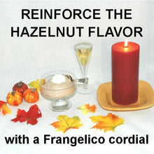 Load image into Gallery viewer, Chocolate Hazelnut Mousse in dessert dish with Frangelica® liquor Fall