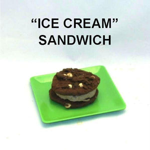 Chocolate Hazelnut Ice Cream Sandwich Summer