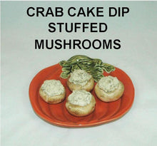 Load image into Gallery viewer, Cold Crab Cake Dip Stuffed Mushrooms Fall