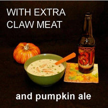 Load image into Gallery viewer, Crab Lovers' Creamy Bisque with pumpkin ale