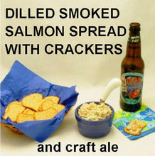 Load image into Gallery viewer, Dilled Smoked Salmon Spread with craft ale Summer