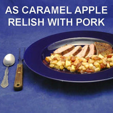 Load image into Gallery viewer, Roast Pork Loin with Caramel Apple Habanero Salsa Relish