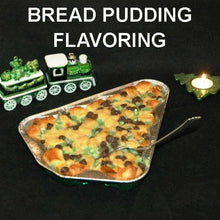 Load image into Gallery viewer, Irish Cream Bread Pudding with mint and chocolate chips Christmas