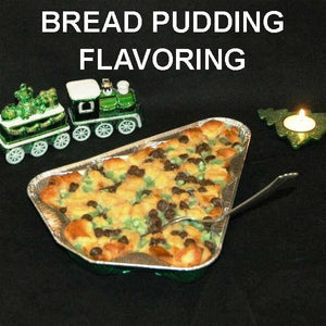 Irish Cream Bread Pudding with mint and chocolate chips Christmas