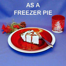 Load image into Gallery viewer, Irish Cream Mousse Freezer Pie Christmas