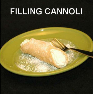 Cannoli with Irish Cream Mousse Filling