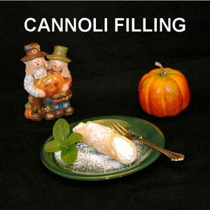 Cannoli with Irish Cream Mousse Filling Fall