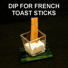 Load image into Gallery viewer, French toast sticks with Irish Cream Mousse for dipping