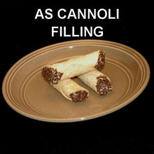 Load image into Gallery viewer, Cannoli filled with Kahlua® Chocolate Mousse, garnished with chocolate sprinkles