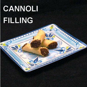 Cannoli filled with Kahlua® Chocolate Mousse, garnished with chocolate sprinkles Summer