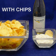 Load image into Gallery viewer, Lemon Pesto Chip Dip with white wine