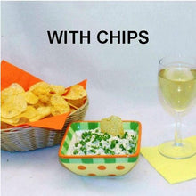 Load image into Gallery viewer, Lemon Pesto Chip Dip with white wine Summer