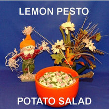 Load image into Gallery viewer, Lemon Pesto Potato Salad with ham and scallions Fall casual