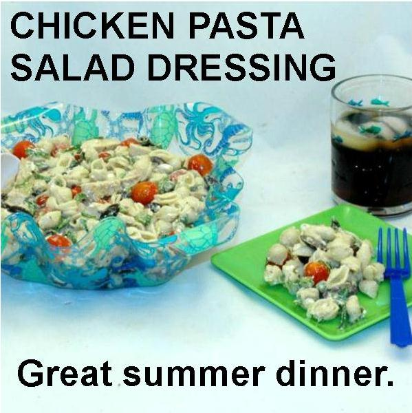 Mediterranean Pasta Salad with Madras Vinaigrette Dressing Summer