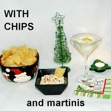 Load image into Gallery viewer, Madras mayonnaise and sour chip cream dip with martinis Christmas