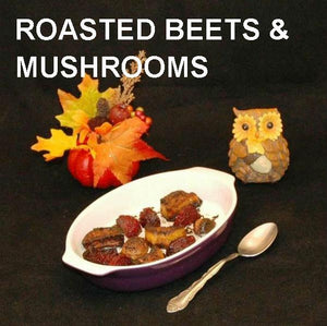 Madras Roasted Yams and Beets Side Dish Fall
