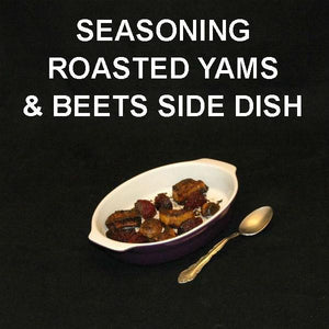 Madras Roasted Yams and Beets Side Dish