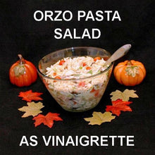 Load image into Gallery viewer, Mediterranean Pasta Salad with Madras Vinaigrette Dressing Fall
