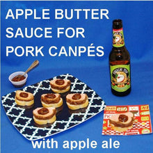 Load image into Gallery viewer, Pork and Apple Butter Canapés with apple ale Summer