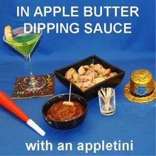 Load image into Gallery viewer, Roast pork chunks with Casablanca Apple Butter dipping sauce with Appletini New Year's