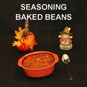 Queen of Sheba baked beans Thanksgiving football side dish