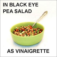 Load image into Gallery viewer, Black Eye Pea Salad with Queen of Sheba Vinaigrette