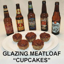 Load image into Gallery viewer, Queen of Sheba Spicy Ketchup Glazed Meatloaf Cupcakes for ale tasting