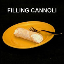 Load image into Gallery viewer, Cannoli filled with Raspberry Lemon Mousse