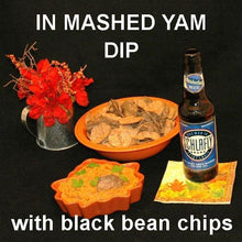 Load image into Gallery viewer, Rio Grande Mashed Yams Vegetarian Dip and seasonal ale Thanksgiving appetizer