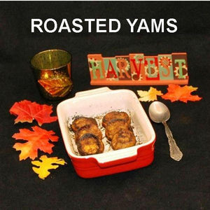 Spicy Rio Grande Roasted Yams side dish Fall
