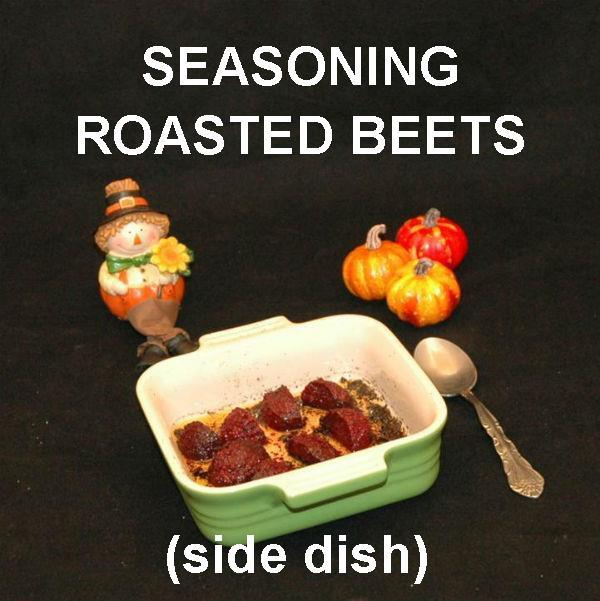 Roasted Bombay Spiced Beets Thanksgiving side dish