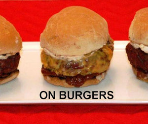 Burger sliders with Roasted Garlic Spicy Ketchup