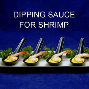 Shrimp with Mango Curry Dipping Sauce