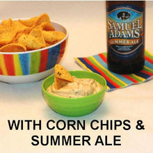 Load image into Gallery viewer, Texas Wildfire Poppy Seed mayonnaise and sour cream chip dip, served with Summer ale