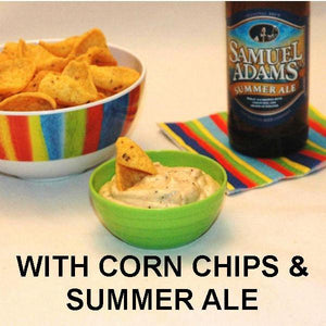 Texas Wildfire Poppy Seed mayonnaise and sour cream chip dip, served with Summer ale