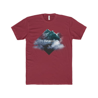 Overcome Mountain T-Shirt Men's - Cardinal