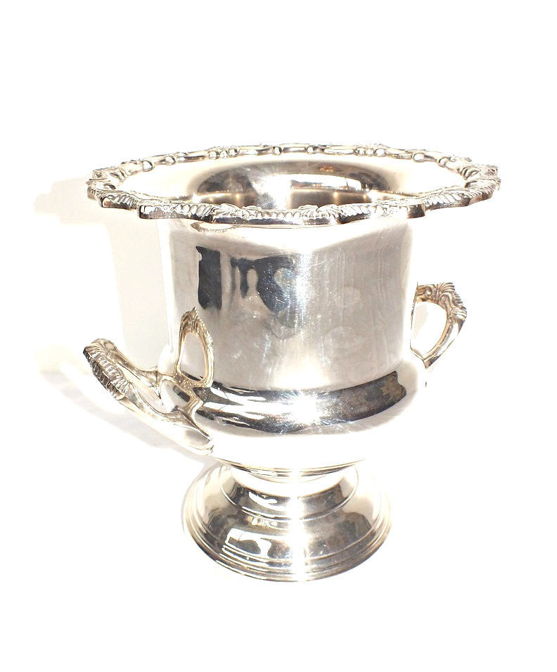 A Saracen Silver Plate Champagne Bucket