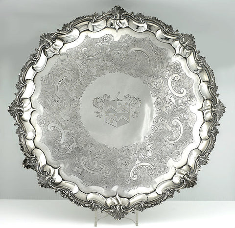 A George III Silver Tray, LONDON 1788