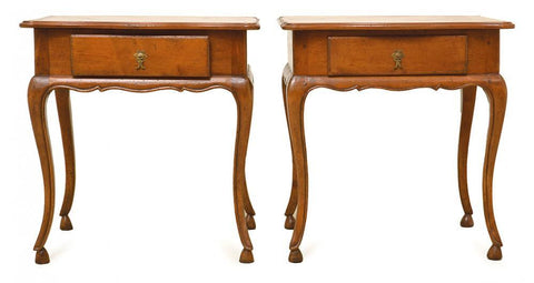 A Pair of French Provincial Style Bedside Tables