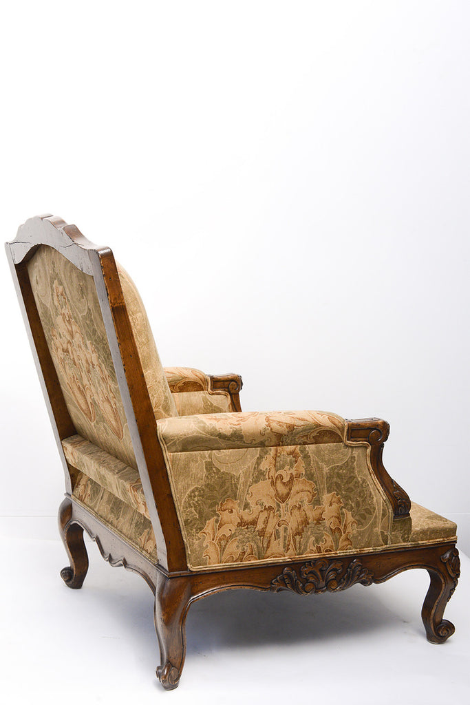 A Louis XV Style French Armchair