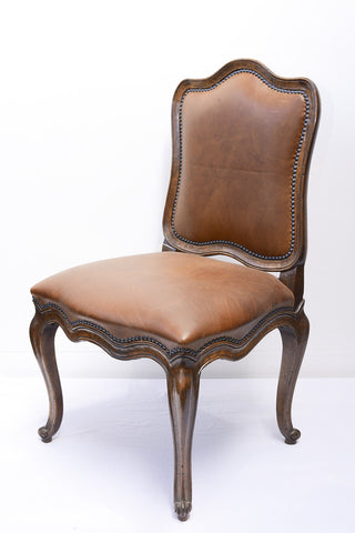 A Set of Eight French Provincial Hamel Style Dining Chairs