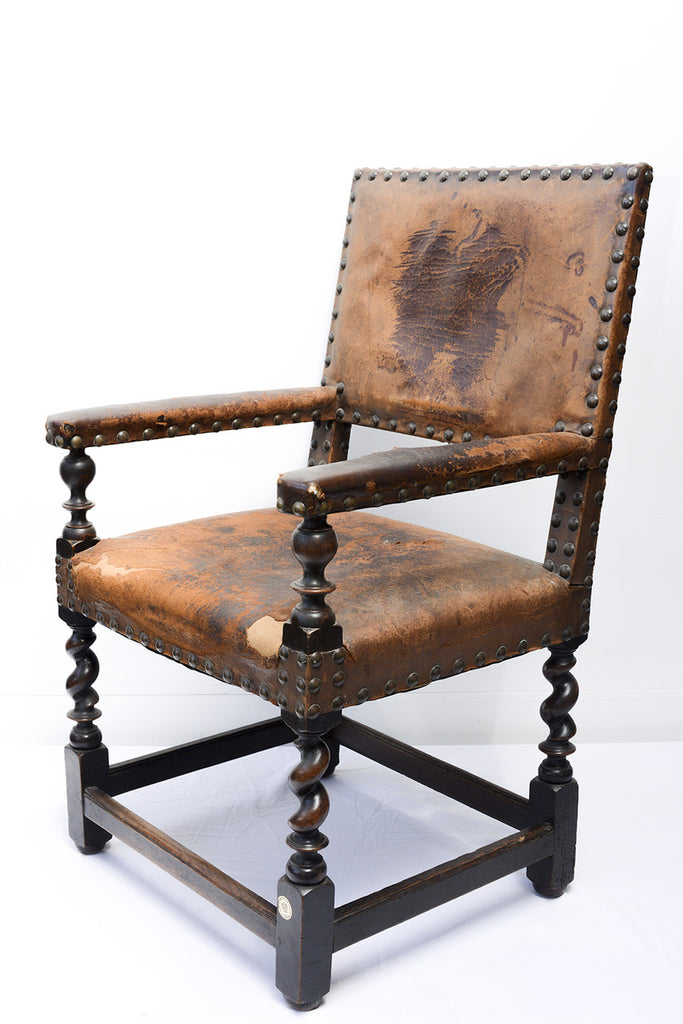 A 17th Century Spanish Armchair