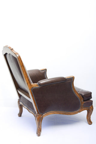 A Pair of Louis XV Style Bergeres