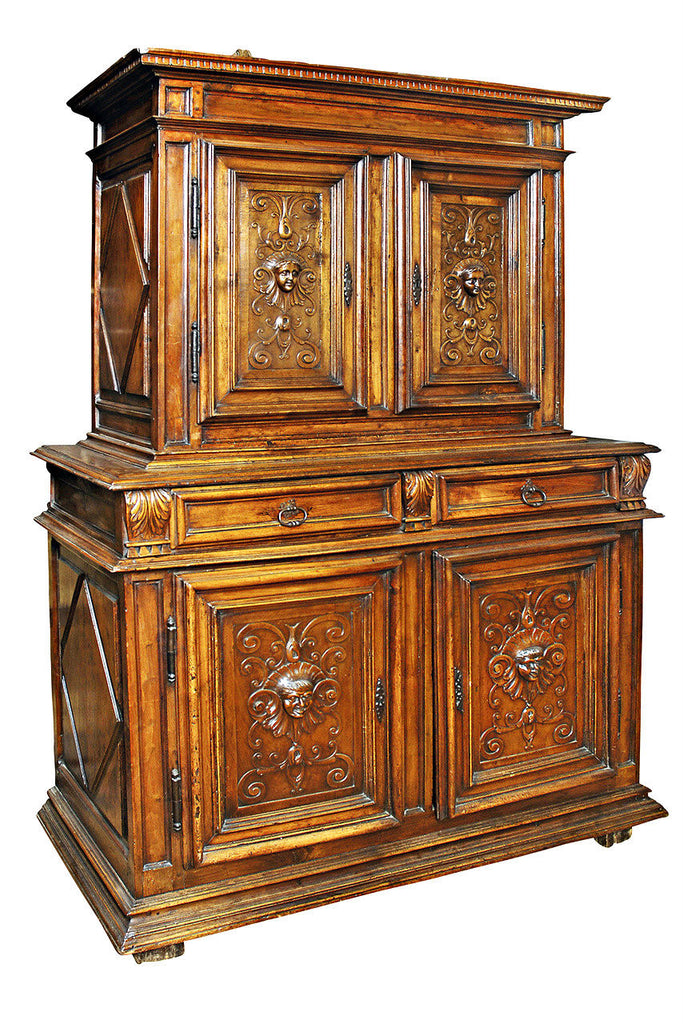 A 18th Century French Walnut Buffet de Corps.