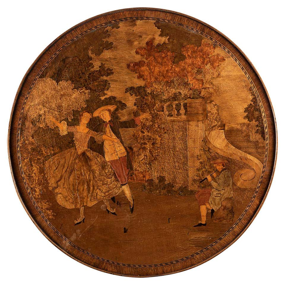 An 18th Century Louis XVI Style Parquetry Games Table