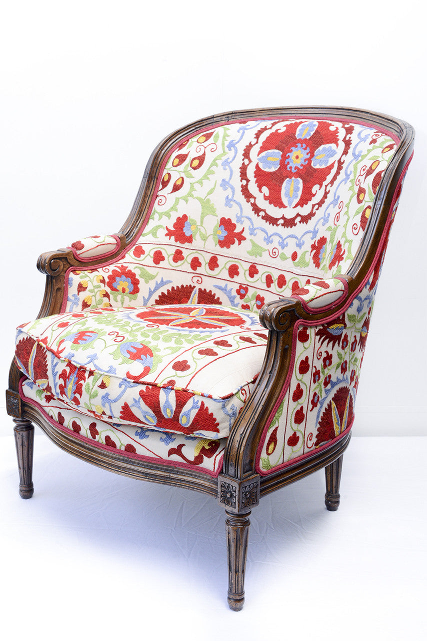 A Louis XVI Style Tub Chair